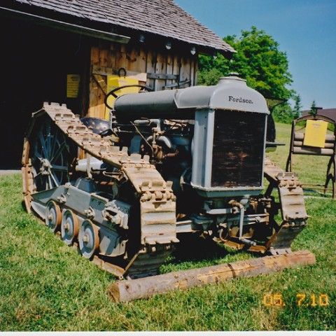 Fordson With Crawler Kit