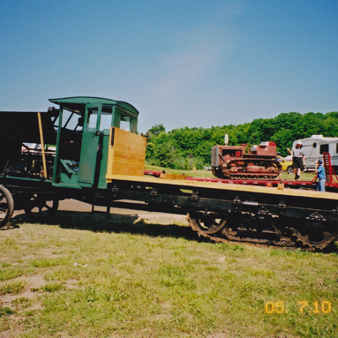 Linn Tractor After Restoration